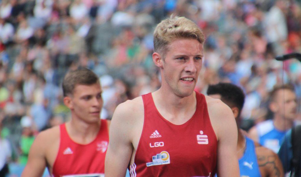 Manuel Sanders unterstrich in Wetzlar über 400 Meter seine augenblicklich gute Form
