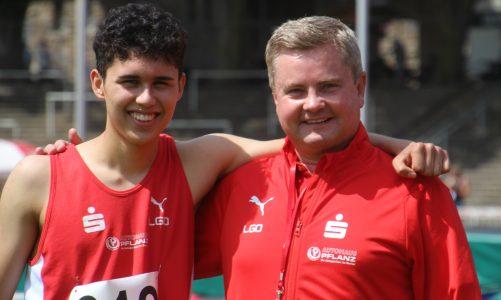 Der Nachwuchs der LG Olympia konzentriert sich nun auf die Deutschen Jugendmeisterschaften in Heilbronn