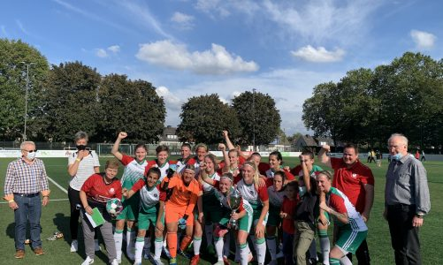 "DJK Eintracht Dorstfeld verteidigt den ""Teamsport Philipp""-Kreispokal der Damen"