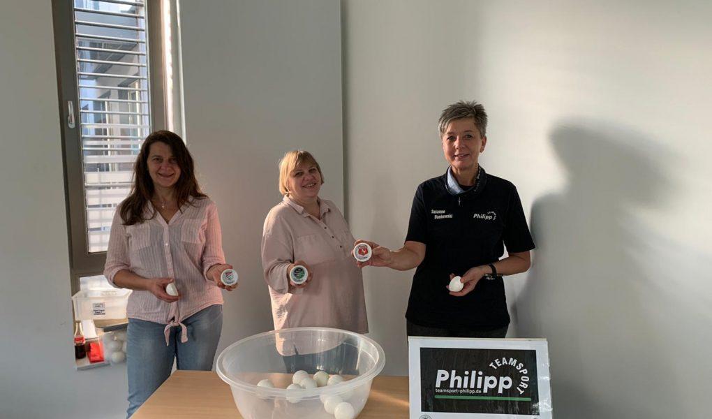 Auslosung Teamsport Philipp-Kreispokal der Frauen