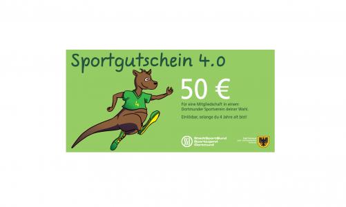 SSB – Sportgutscheine 4.0; 50€ für neues Mitglied von 4-6 Jahren