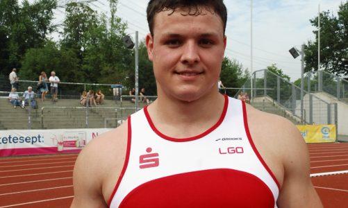 Michael Fischer im Diskuswerfen erstmals über 50 Meter