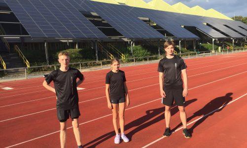 Stark besetzte Nachwuchs-Wettkämpfe zum Saisonausklang im Stadion Rote Erde