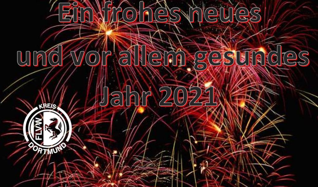 Der Kreis Dortmund wünscht ein frohes neues Jahr 2021!