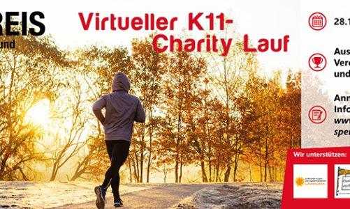 Virtueller K11-Charity-Lauf – Ein erster Zwischenstand