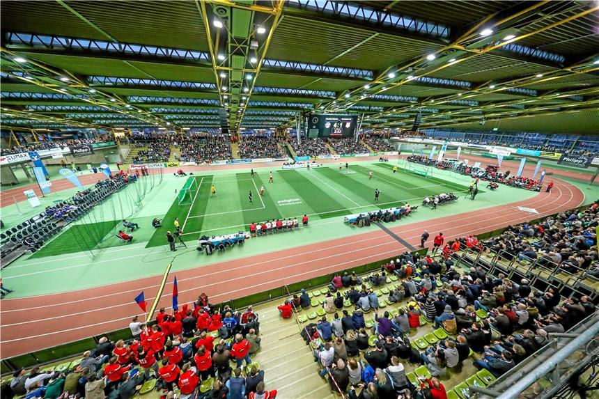 Aussicht Hallenstadtmeisterschaften im Kreis