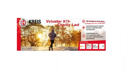 Virtueller K11-Charity-Lauf – Der nächste Zwischenstand