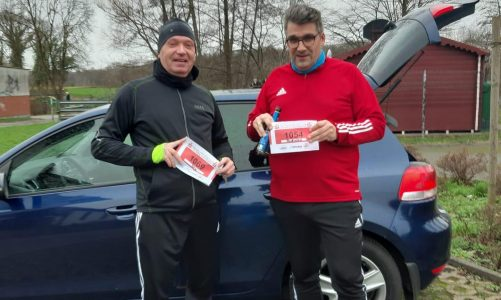 stellv. Kreisvorsitzender lief beim 39. Sparkassen Silvesterlauf in Soest für den guten Zweck