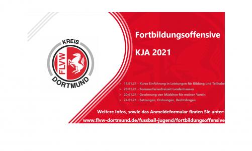 KJA-Fortbildungsoffensive in KW 3 / Offene Teilnahmeplätze