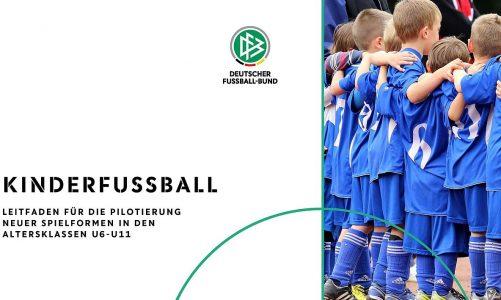 """G- und F- Jugend Fair-Play-Liga / Vorstellung """"Neue Spielformen im Kinderfußball"""""""
