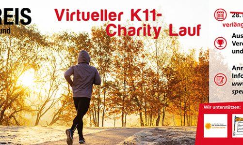 Virtueller K11-Charity Lauf geht in die Verlängerung!