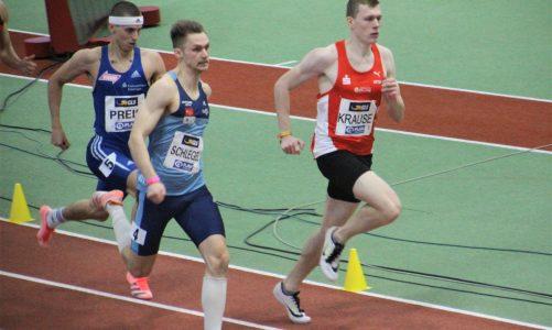 Henrik Krause überstand bei der Hallen-EM in Torun trotz einer starken 400m-Zeit nicht die erste Runde