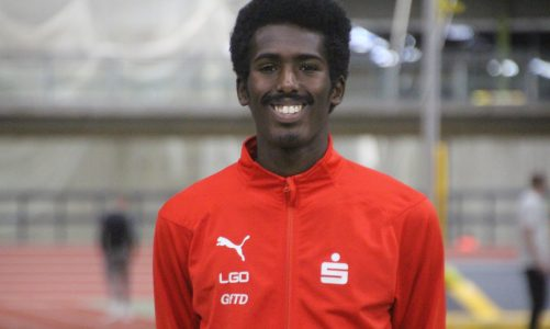 Gold für Mohamed Mohumed und Manuel Sanders bei den deutschen Leichtathletik-Meisterschaften in Braunschweig