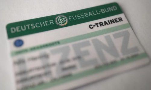 Ausbildung Trainer C-Lizenz (120 LE gem. DFB-AO) startet