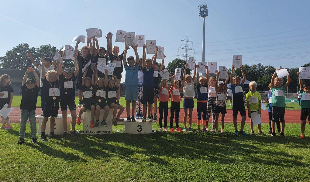 Kinderleichtathletik-Wettkampf fand bei allen Beteiligten großen Anklang