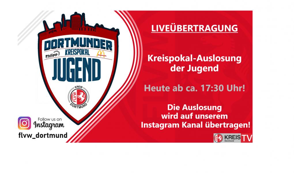 Auslosung MC Donald´s-  & Teamsport Philipp-Kreispokal der Jugend
